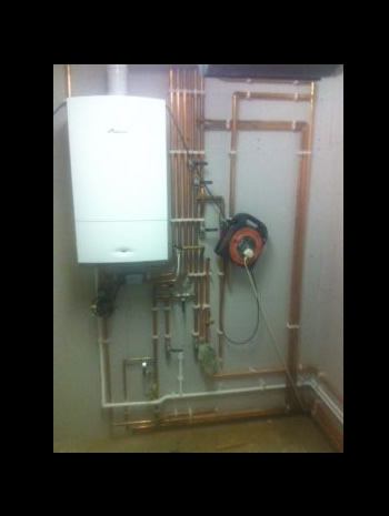 New boiler and unvented